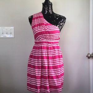 Dresses & Skirts - Southern Frocks Hot Pink Horizontal Stripe Dress